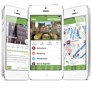 Locate yourself automatically - get directions by underground or by foot - rich attractions directory