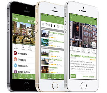 Personalized and Automated Trip Itinerary on iPhone and iPod Touch