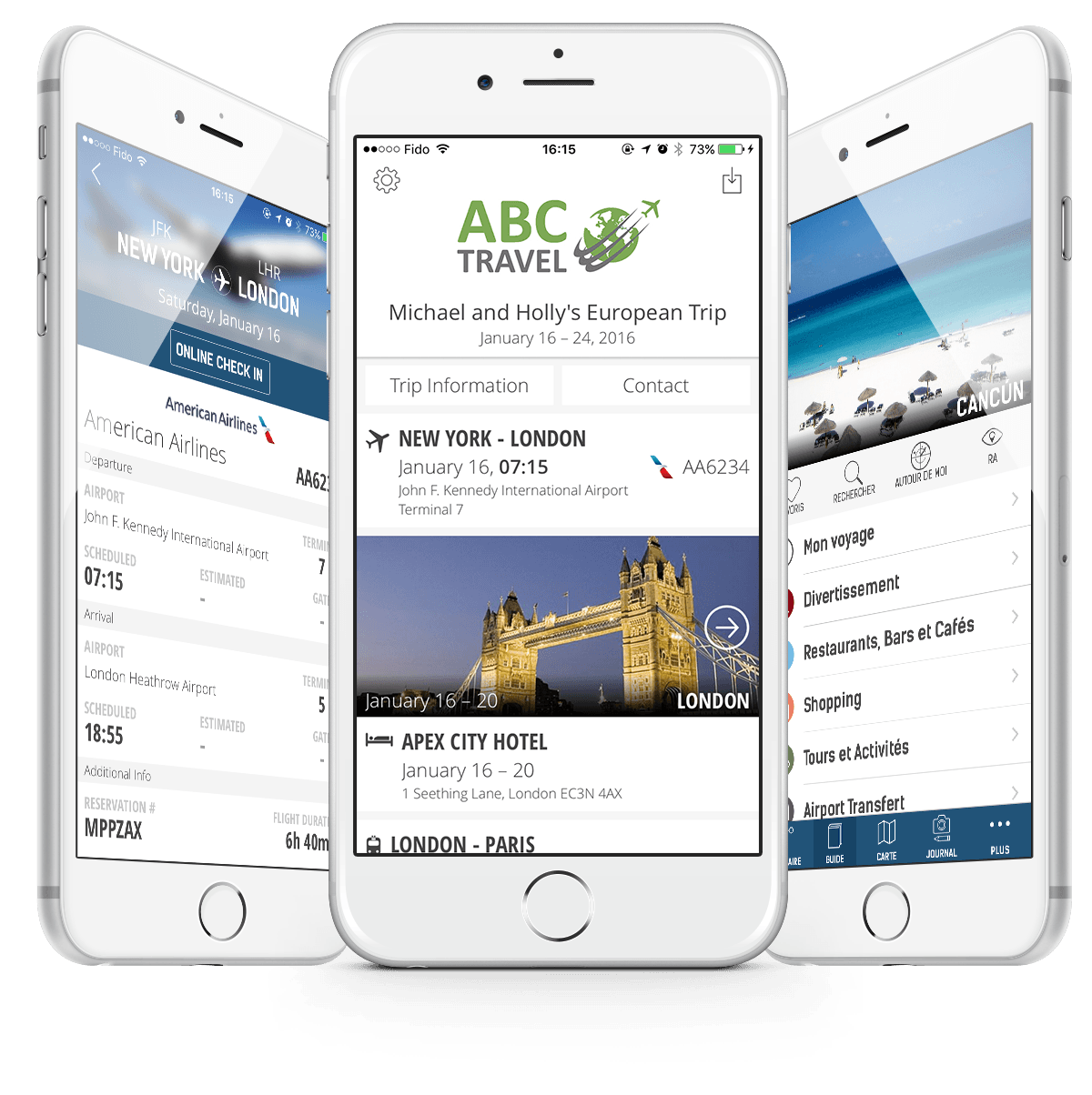 Mobile applications for travel agencies and tour operators